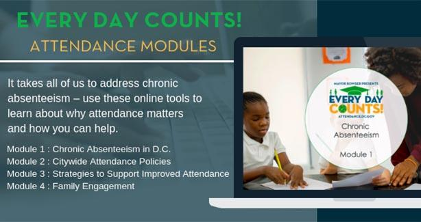 Attendance Training Modules Banner