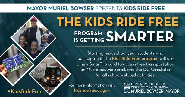 Kids Ride Free on Metrobus and Metrorail